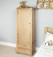 Amelie childrens bedroom furniture oak single wardrobe