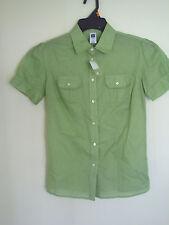 Girl's GAP Green Button Down  Dress Shirt Size 0