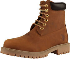 U.S.Polo Shoes Nubuck Oiled Aged Vintage Men Man Ankle Boot
