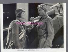 VINTAGE PHOTO 1933 BRUCE CABOT Eric Linden FLYING DEVILS Circus Pilots rare