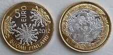 5 Euro Finnland 2012 Nordische Natur - Flora - Hahnenfuß unz.
