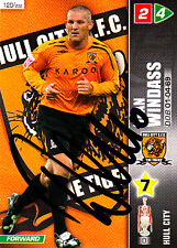Hull City F.C Dean Windass Hand Signed Championship 2008 Panini Card.