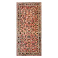"5'2"" x 11' Runner Hand Knotted 100% Wool Traditional Oriental Area Rug Rust"