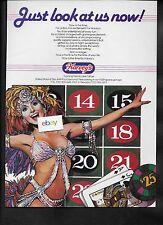 HARVEY'S WAGON WHEEL LAKE TAHOE HOTEL & CASINO JUST LOOK AT US NOW! 1985 AD