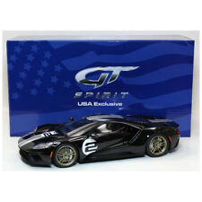 GT Spirit  2017 Ford GT #2 Black Heritage Edition 1/18 Scale New Limited Edition