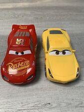 Disney Cars Thinking Toys Light Up Talking Racing Lighting McQueen Cruz Ramirez