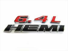 Jeep Dodge Chrysler 6.4L HEMI Emblem MOPAR GENUINE OE NEW Challenger Charger 300