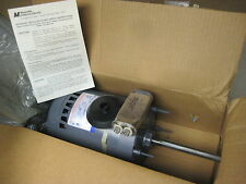 "Magnetek 1/2hp electric motor 460/200-230v, 1ph, 1140 rpm, 5/8"" shaft, NEW"