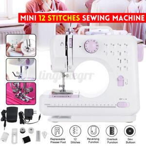 Multi-Function Electric Sewing Machine Mini Portable Hand held Desktop Home Kit