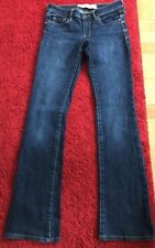 ABERCROMBIE & FITCH JUNIORS 24Waist BOOT-CUT JEANS SIZE OOS GOOD CONDITION!!!!