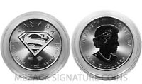 SUPERMAN - $5 Canadian 1 oz 9999 Silver in capsule (Fee Shipping!)
