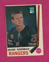 1969-70 OPC # 188 RANGERS ORLAND KURTENBACH EX-MT CARD (INV#6321)