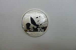 China 10 Yuan 2016 Panda Bär 30 Gramm 999 Silber