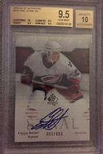 2003-2004 UD SP Authentic Eric Staal RC FUTURE WATCH AUTO #807/900 BGS 9.5 & 10
