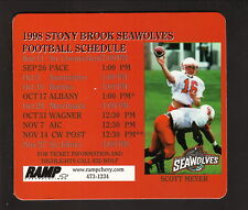 Stony Brook Seawolves--1998 Football Magnet Schedule