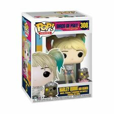 Funko - POP Heroes: Birds of Prey Harley Quinn and Beaver Brand New In Box