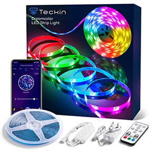 Teckin Alexa Rgbic Led Strip Light 5M, App Control, Dreamcolor Music Sync, for