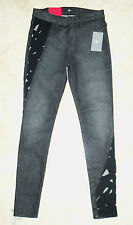NWT 7 For All Mankind Black Cut Out Ltd Edition Skinny Jeans Sz 28 $295 38/777