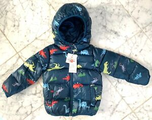 Boys Winter Coat Thick Warm Puffer Jacket Size 12-18M (90)