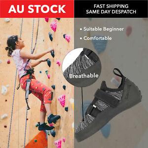 Brand New ClimbX Icon Grey Rock Climbing Shoes Outdoor Sport Equipment Hard