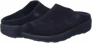 FitFlop Women's Loaff Suede Clogs, Supernavy, Size 11.0 bLeq