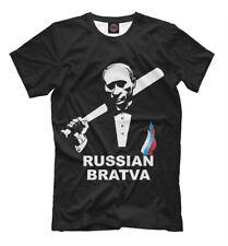 RUSSIAN BRATVA NEW t-shirt Russia Putin Hooligan bully 705030