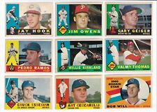 ***1960 Topps #184 Gary Geiger BV$4! No creases, Slightly soft corners***