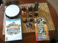 Skylanders Giants mixed lot bundle Nintendo Wii U Game USB Dock read description