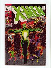 New listing X-Men #55 Barry Smith The Living Pharoah Silver Age Marvel Comics 1969 Fn-