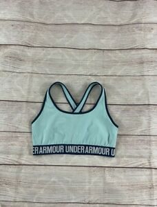 under armour compression sports bra Large