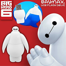 Cute BIG HERO 6 BAYMAX Model 64GB USB 2.0 Flash Drive Enough Memory Stick U Disk