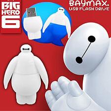 Cute BIG HERO 6 BAYMAX Model 64GB USB 2.0 Flash Drive Enough Memory Stick U Disk