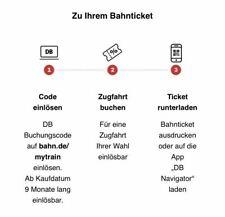 DB Joyn Mytrain Bahn Freifahrt Gutscheincode Coupon ICE/IC Ticket auch Freitags!