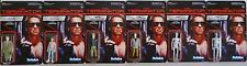 """The Terminator 3 3/4"""" inch Posable Reaction Retro Action Figure Set of 6 2014"""