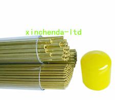 100pcs 500mm Electric Discharge Machineedm Single Hole Brass Tube 05 30mm