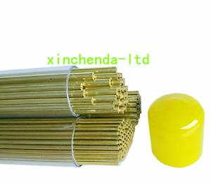 100pcs 500mm Electric Discharge Machine(EDM) Single-Hole Brass Tube Ø0.5-3.0mm