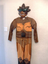 Boys Gormiti Nick Lord Of The Earth Fancy Dress Costume and mask 7-8 years