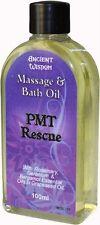 Aromatherapy PMT Rescue Massage & Bath Oil 100ml with Rosemary Geranium Bergamot