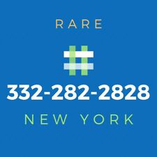 332 Area Code Phone Number - Rare Vanity Number [282-2828]