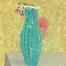 Mauro Lovi -  Vaso con Orecchio Olio su cartone Udito