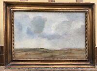 Danish Malerin Laurentine Marie Jessen 1896 Landscape With Clouds Study