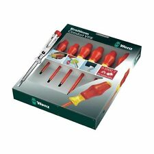 Wera 31576 Kraftform Comfort 7 Pcs VDE Screwdriver Set