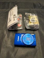 Canon PowerShot ELPH 190 IS / IXUS 180 20.0 MP Digital Camera - Blue