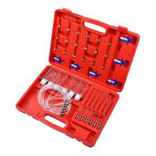 36Pc Diesel Injector Flow Meter Test Kit Common Rail Adaptor Fuel Tester Set