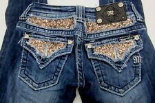 *NICE* Miss Me by Buckle women's Denim Jeans Skinny Style JP5619S Size 24 x 32