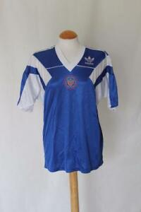 USA UNITED STATES of AMERICA Blue Away Adidas Soccer Jersey Shirt - 38/40 M 1990