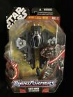 Transformers Star Wars CrossOvers Darth Vader To Sith Starfighter NEW MOSC For Sale