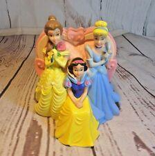 "Disney Princesses Princess Coin Bank Belle Cinderella Sleeping Beauty 8.5"""