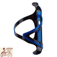 ELITE CANNIBAL XC FIBERGLASS GLOSS BLACK//ORANGE BICYCLE WATER BOTTLE CAGE