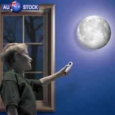 LED Night Light Healing Moon Bedroom Decor Romantic Wall Lamp Remote Control